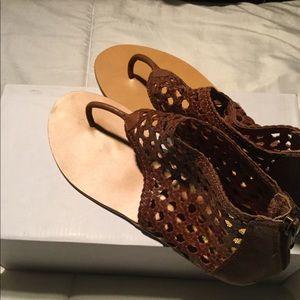 Ecote Brown Sandals